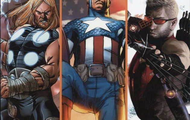 "Mon Impression : Ultimate Avengers tome #4 ""Thor/Captain America/Hawkeye"""