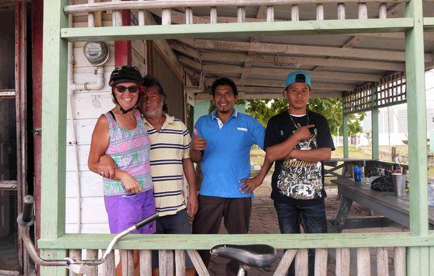 Chetumal, Mexique à vélo 19 Mars 2017. Le dernier pirate des Caraibes