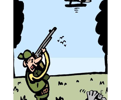 Chasseur de drônes: