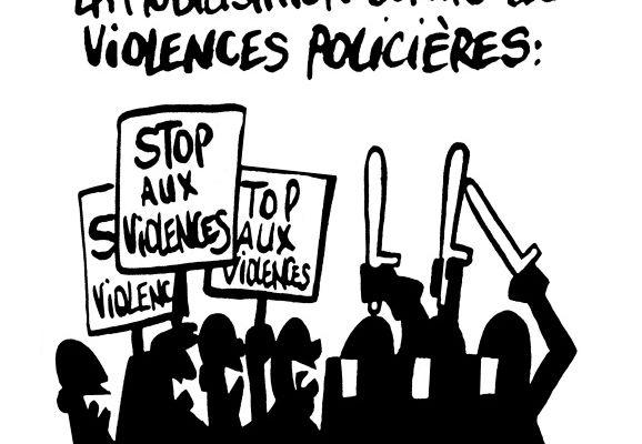 La mobilisation contre les violences policières: