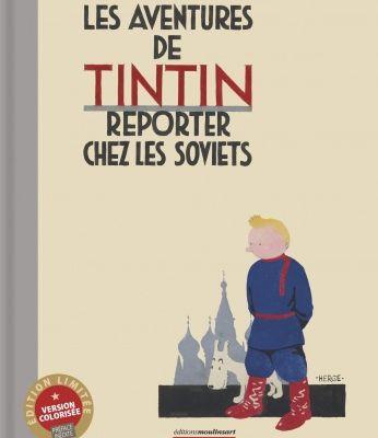 Les aventures de Tintin reporter chez les soviets