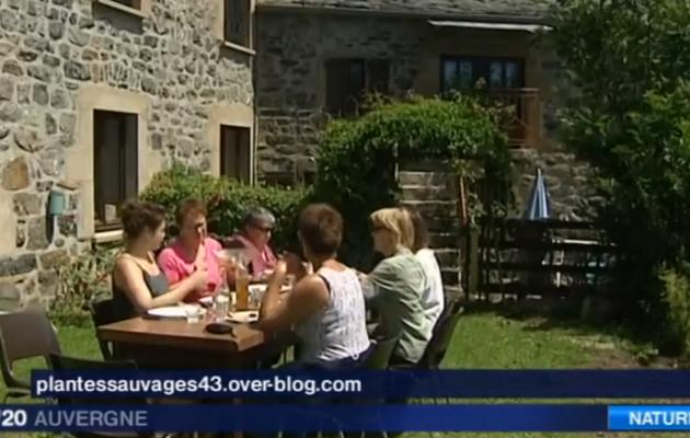 Reportage France 3 Auvergne Journée cueillette et cuisine