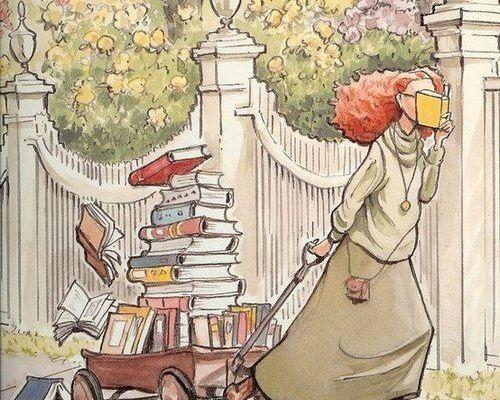 Livraison de livres...