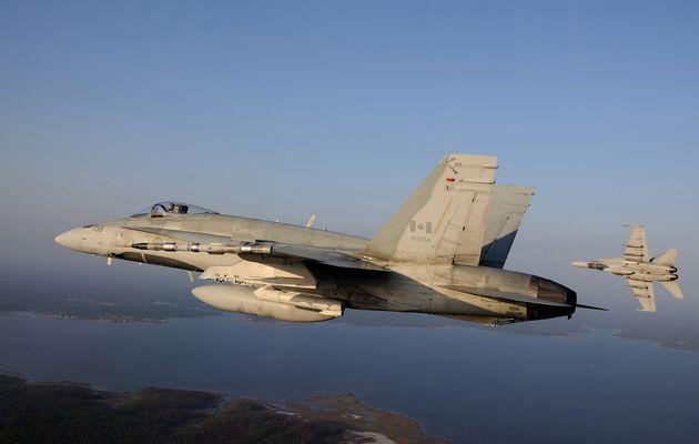 Un pilote de chasse de l'Aviation Royale Canadienne se tue dans le crash de son CF-188 Hornet