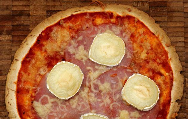 Tortipizza bacon-chèvre-miel (+ quelques autres idées de garnitures)