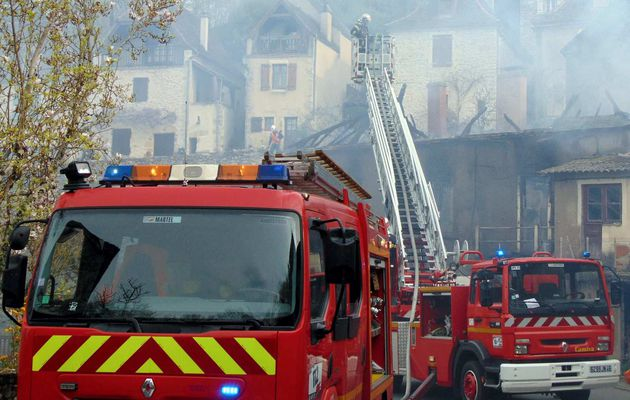 Incendie de maison à Montvalent (46)