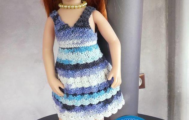 Pauline, la belle bleue ...