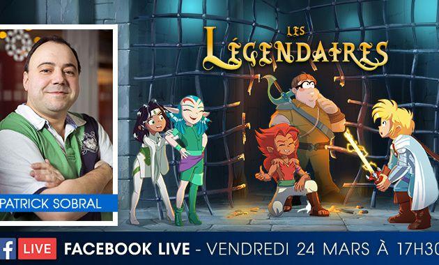 Patrick SOBRAL en live Facebook le 24/03 à 17h30