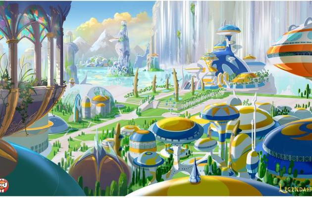 [EXCLU] : Découvrez de nouveaux paysages du dessin animé!