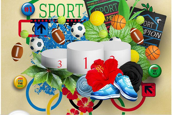 Celebrate the Day : Olympic Games - Journée Olympique