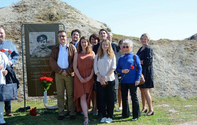 Fort de La Pompelle : Hommage aux soldats Russes