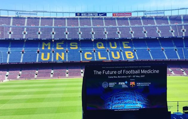Football Medicine Conference : Camp Nou, Barcelone
