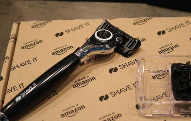 SHAVE IT Grand le kit de rasage manuel en offre exclusive Amazon