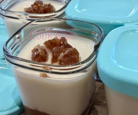 Yaourts à la crème de marrons (pour 8 pots)