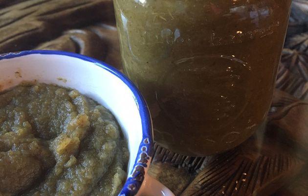Compote de pommes aux orties - miam