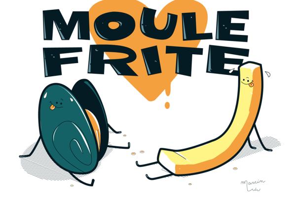 AU MONTCHANINOIS jeudi 15 décembre 2017-MOULES-FRITES