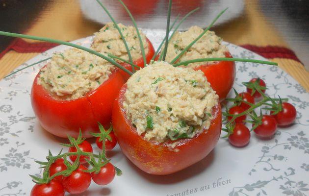 tomates au thon