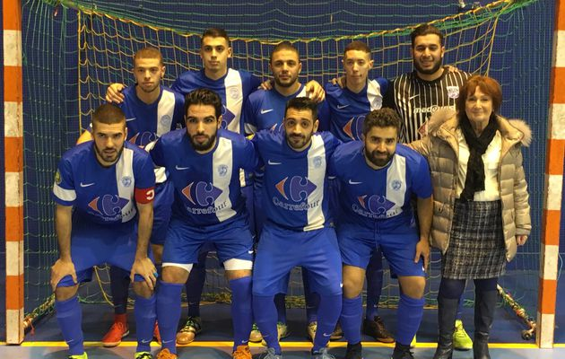 L'AS Minguettes Futsal en 16e de finale de la Coupe de France