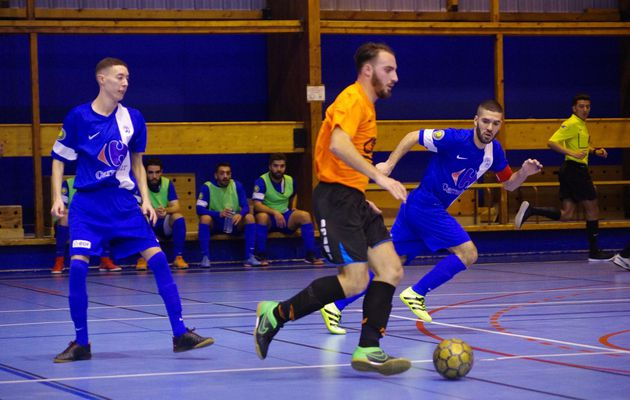L'AS Minguettes futsal en 8e de finale de la Coupe de France