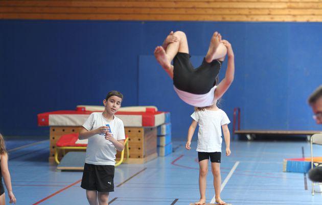 640 adhérents au CMOV Gymnastique danse et trampoline