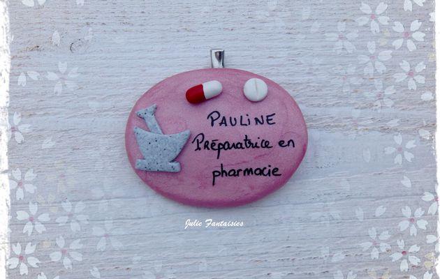 Badge pour Pauline