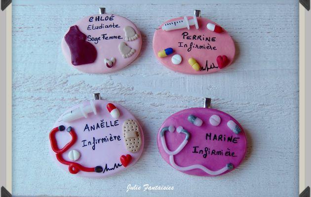 Badges d'infirmières personnalisables