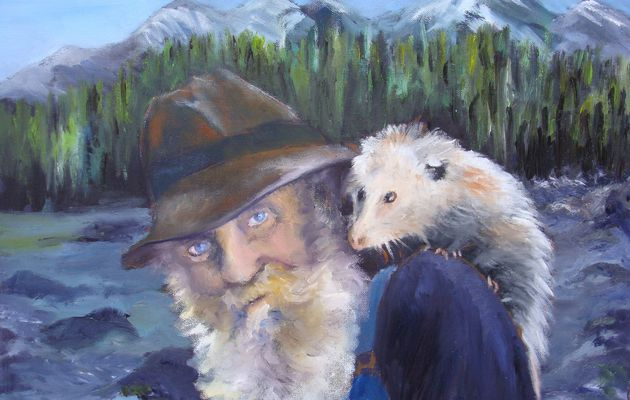 portrait : le vieux trappeur