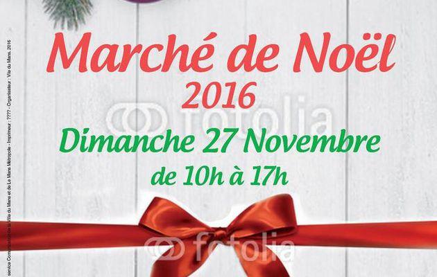 Marché de noël aux Bruyères, dimanche 27 novembre