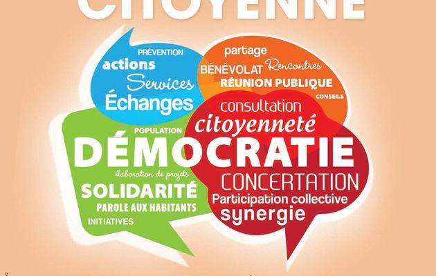 Forum de la participation citoyenne : budget participatif, journée citoyenne et internet citoyen
