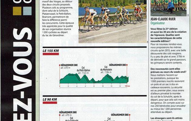 """Article de presse du Magazine """"le Cyle"""""""