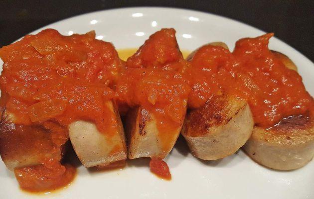 Currywurst - Saucisse à la tomate et curry