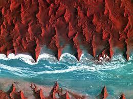 Beauté du désert : Vue du ciel