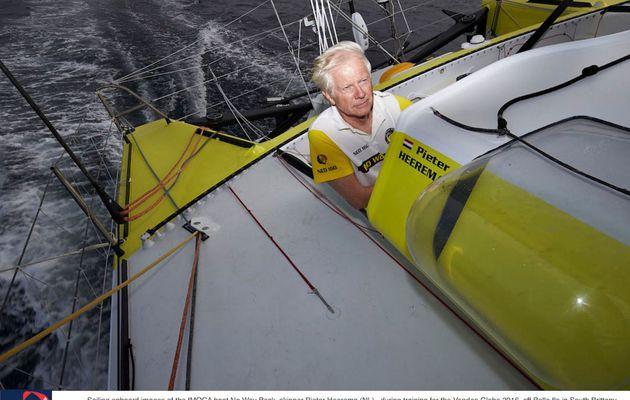 Le néerlandais Pieter Heerema, navigateur sans expérience, 17e du Vendée Globe