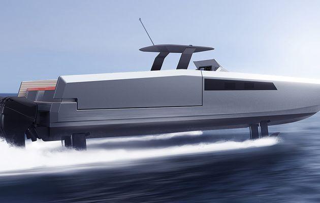 SCOOP - Sunreef lance la première vedette catamaran open de série, dotée de foils