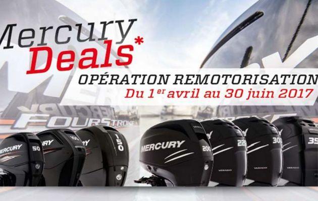 Du 1er avril au 30 juin, Mercury reprend les anciens moteurs hors-bord jusqu'à 6855 euros !!