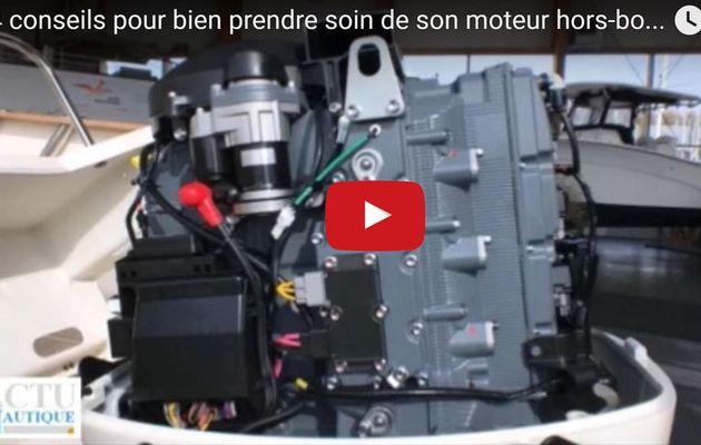 Vidéo - 4 conseils simples pour bien prendre soin de son moteur hors-bord