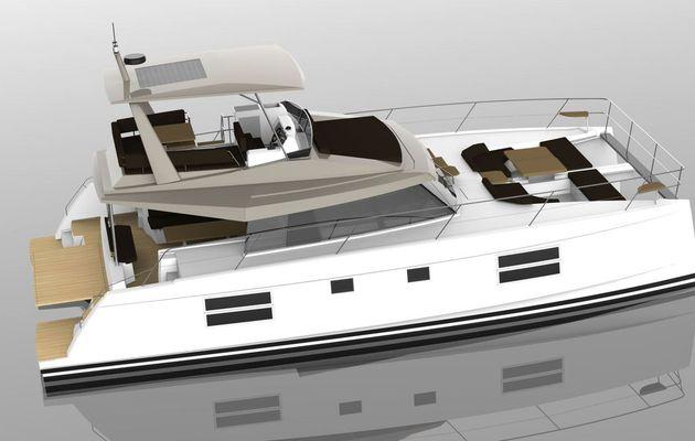 Bavaria Catamarans annonce le lancement du Nautitech 47 Power, son premier catamaran motoryacht