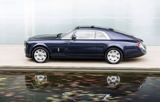 Rolls Royce Sweptail, une automobile qui puise son inspiration dans le yachting