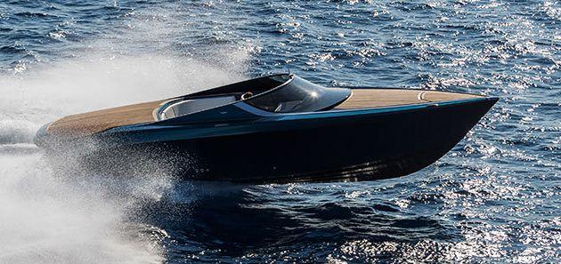 Avec l'AM 37, Aston Martin s'essaie au runabout de luxe