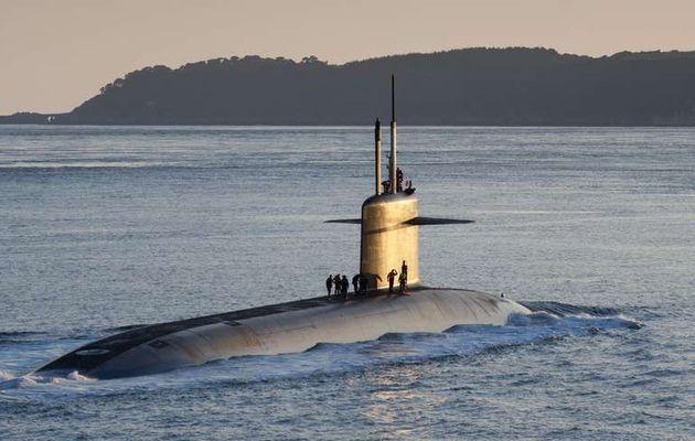 Veolia va démanteler cinq sous-marins nucléaires