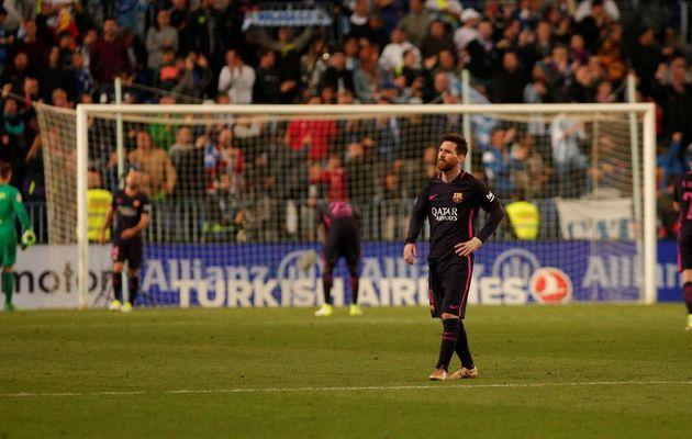 Malaga-FC Barcelone (2-0)