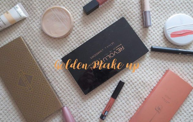 Golden make up