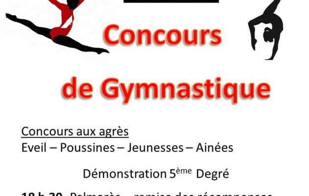 CONCOURS DE GYMNASTIQUE 26/03/2017