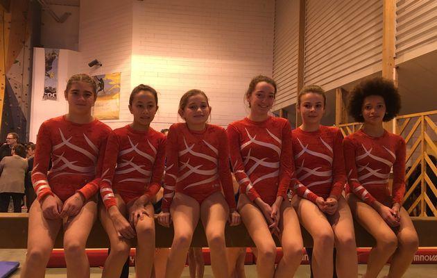 Challenges Départementaux Gymnastique - Résultats