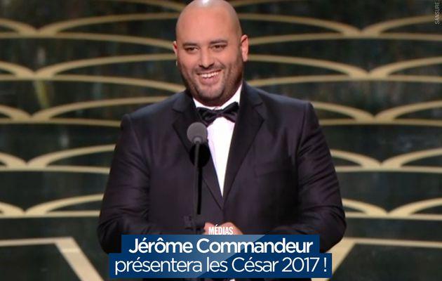 Jérôme Commandeur présentera les César 2017 ! #Cesar2017