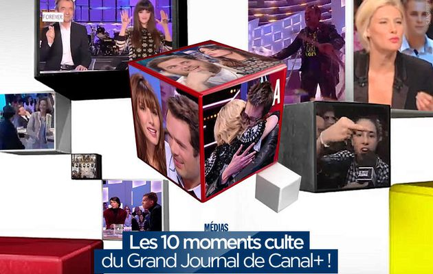 Les 10 moments culte du Grand Journal de Canal+ ! #LGJ