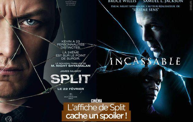 L'affiche de Split cache un spoiler ! #SplitMovie