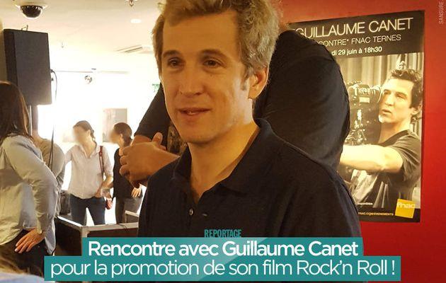 Rencontre avec Guillaume Canet pour la promotion de son film Rock'n Roll ! #RocknRoll