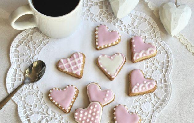 Biscuits décorés à la glace royale