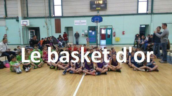 Le basket d'or